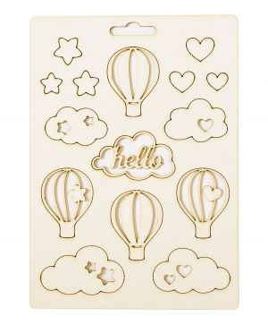 Elemente din carton - Hello baby IDEA1815