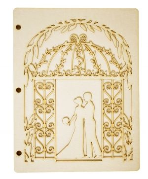 Bază pentru album scrapbook - Married couple IDEA1805