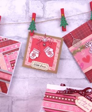 Set cartoane scrapbooking 30,5x30,5cm - Cosy Christmas PAPAD058X19