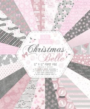 Set cartoane scrapbooking 30,5x30,5cm - Christmas Belle PAPAD055X19