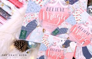 Set cartoane scrapbooking 15,2x15,2cm - Believe In Magic FEPAD217X19