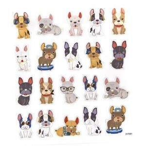 Stickere 20 buc. - Puppies DPNK-102