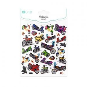 Stickere 34 buc. - Motorcycles DPNK-104