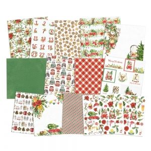 Set cartoane scrapbooking 30,5x30,5cm - Christmas Treats P13-CHT-08