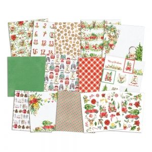 Set cartoane scrapbooking 15,2x15,2cm - Christmas Treats  P13-CHT-09