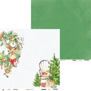 Hartie scrapbooking 30.5x30.5cm - Christmas Treats 03 P13-CHT-03