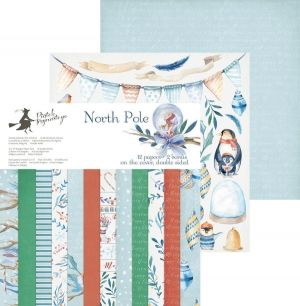 Set cartoane scrapbooking 30,5x30,5cm - North Pole P13-191