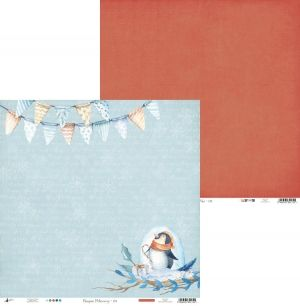 Hartie scrapbooking 30.5x30.5cm - North Pole 03 P13-187
