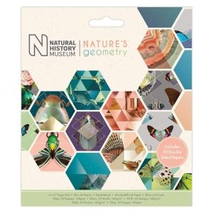 Set cartoane scrapbooking 15,2х15,2 cm, 50 coli - Nature's Geometry PMA-160409