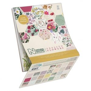 Set cartoane scrapbooking 15,2х15,2 cm, 50 coli - Pressed Flowers PMA-160413