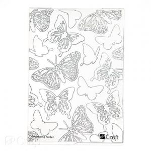 Embossing folder - Butterflies JCMA-025