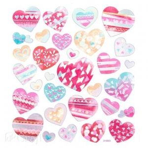 Stickere 31 buc. - Hearts DPNK-071