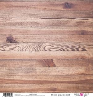 Hartie scrapbooking 30.5x30.5cm - Natural woods PFY-1059