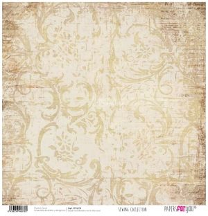 Hartie scrapbooking 30.5x30.5cm - Sewing collection PFY-078