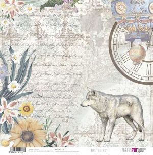Hartie scrapbooking 30.5x30.5cm - Born to be wild PFY-2247