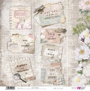 Hartie scrapbooking 30.5x30.5cm - Born to be wild PFY-2250
