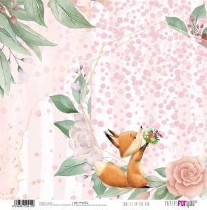 Hartie scrapbooking 30.5x30.5cm - Love is in the air PFY-2412