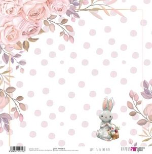 Hartie scrapbooking 30.5x30.5cm - Love is in the air PFY-2416