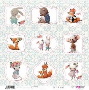 Hartie scrapbooking 30.5x30.5cm - Love is in the air PFY-2419