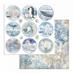 Set cartoane scrapbooking 30,5х30,5cm - Arctic Antarctic SBBL77
