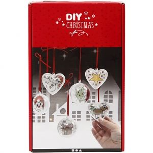 Set de decorare ornamente Christmas 1buc - C97036