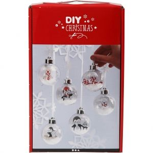 Set de decorare ornamente Christmas 1buc - C97053