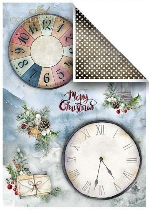 Set cartoane scrapbooking A4 5 coli -  Wonderful Christmas Time ITD-SCRAP-051