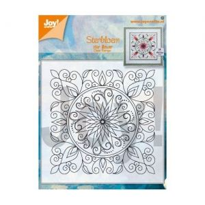 Stampila Silicon - Clearstamp - Star Flower 6410-0534