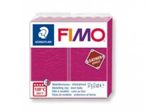 Pasta polimerica FIMO Leather 57g - roz - G8010229