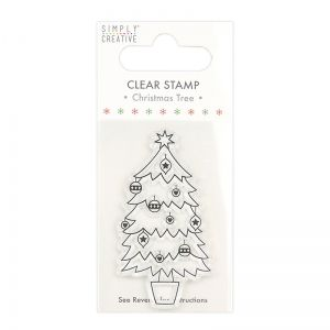 Stampila Silicon - Christmas Stamp Tree SCSTP034X20