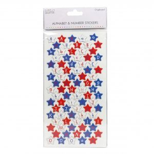 Stickere  - Chipboard Stars SCSTK001