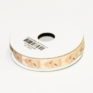 Decorative Ribbon, W: 10-15 mm, 2 M C51435-24