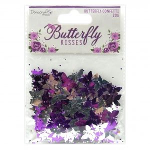 Elemente de decorare Butterfly Kisses Confetti DCTOP181