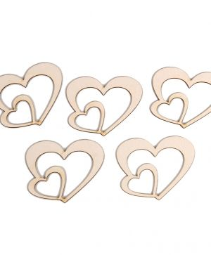 Elemente din carton - Hearts IDEAN0674
